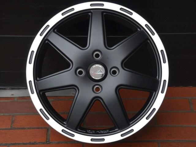 15インチ ラ・ストラーダ ティラードクロス 新品ホイール4本セット