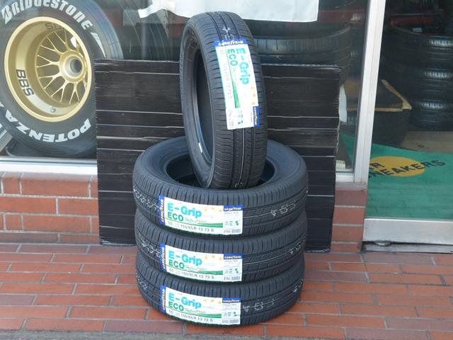 グッドイヤー エフィシエントグリップ エコ EG01 155/65R13 新品タイヤ4本セット 現品限り